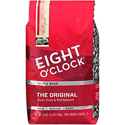 Eight O'Clock Coffee Ground Coffee, Donut Shop, 11 Oz
