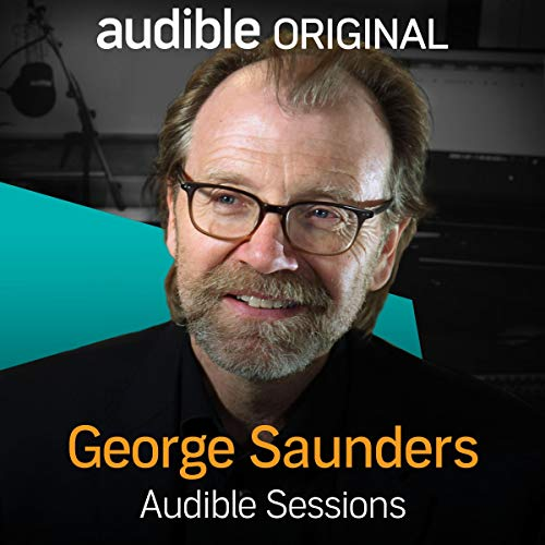 George Saunders audiobook cover art