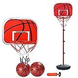 MYYINGELE Ajustable 63-165cm Kids Baloncesto Back Board Stand Net Baloncesto Aro Set para Regalo de niños