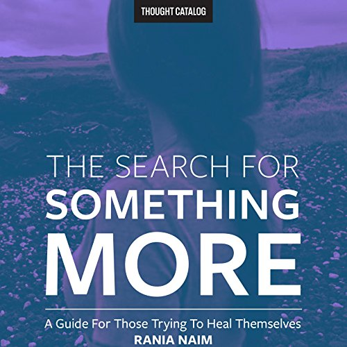 The Search for Something More audiobook cover art