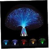 Yililay Lámpara de Fibra óptica Color Cambio de Fibra óptica Luces estrelladas LED para decoración de Mesa Salones Salones Salones Dormitorios Regalos