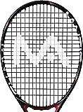 Mantis–tenis y Squash raqueta deporte accesorios cuerdas diseño de logotipo