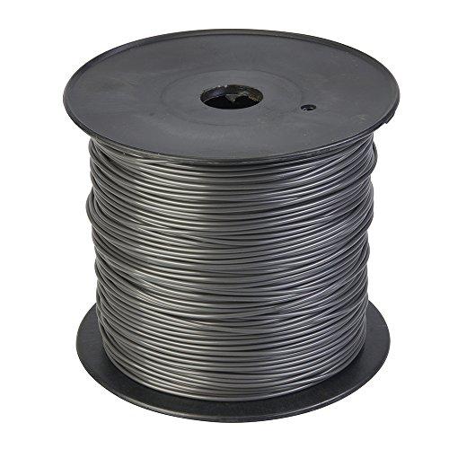 Silverline 245098 262 Metre x 2.4 mm Round Trimmer gris