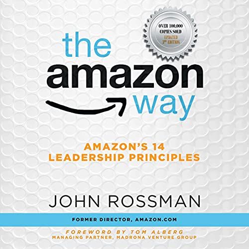 Couverture de The Amazon Way: Amazon's 14 Leadership Principles