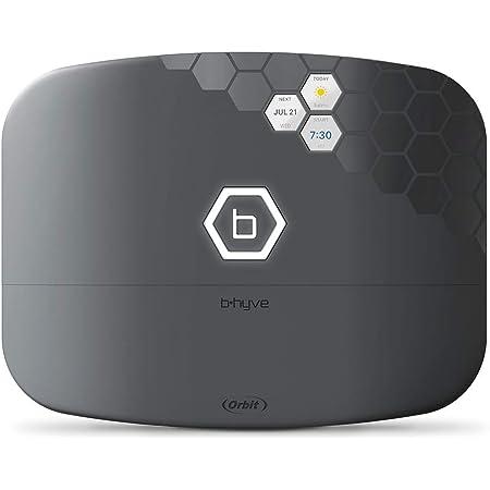Orbit 57995 B-hyve XR Smart 16-Zone Indoor/Outdoor Sprinkler Controller, Compatible with Alexa, Gray