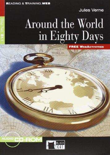 RT.AROUND WORLD 80 D+CDR 11: Around the World in Eighty Days + audio CD/CD-ROM