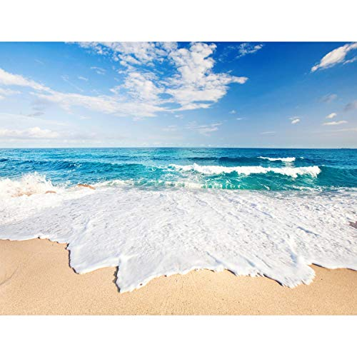 Runa 9007010C Papel pintado fotográfico XXL, imagen del mar, de vellón, para la pared, 308 x 220 cm, ¡100 % fabricado en Alemania! -, c, 352 x 250 cm - 8 Bahnen