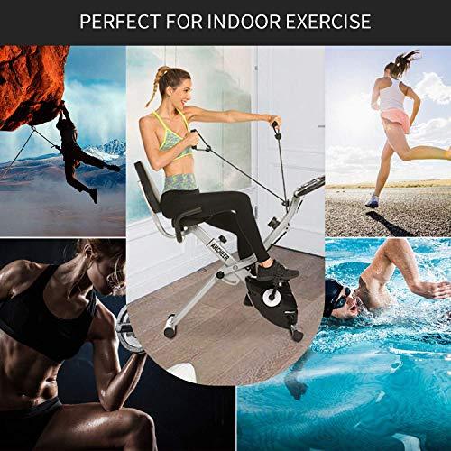 Fitness Trainingsrad ANCHEER 2 in 1 Heimtrainer Bild 6*