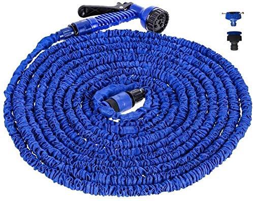 Tuinslang, 3 keer uitzettende slang Pijp uitbreidbaar Tuinslang, uitbreidbaar Flexibel Geen knik Tuinslang voor het wassen van de auto, Bloemen water geven,25FT