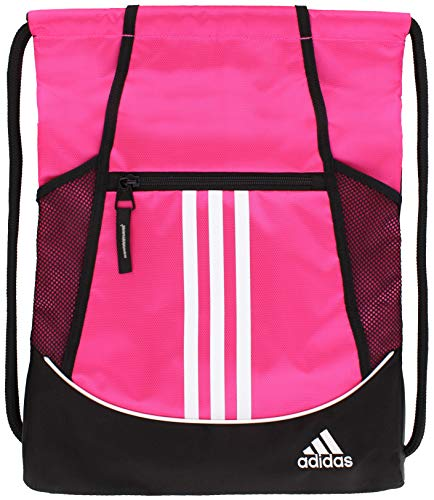 adidas Alliance 2 Sackpack (Shock Pink) $6.65 w/ S&S + Free S&H w/ Prime or $25+