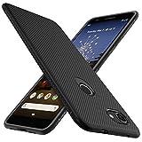 iBetter für Google Pixel 3A Hülle, Ultra Thin Tasche Cover Silikon Handyhülle Stoßfest Case Schutzhülle Shock Absorption Backcover Hüllen passt für Google Pixel 3A Smartphone (Schwarz)