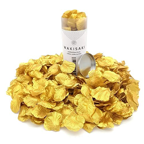 WAKISAKI Aritificial Rose Petals, Deodorized Seperated Ready-to-use, for Wedding Propose Romantic Party...