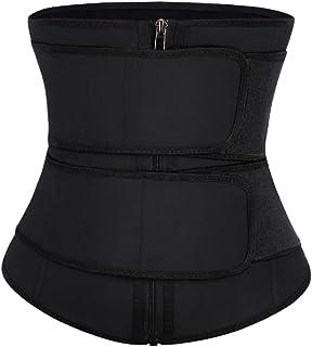 FEDNON Women's Underbust Corset Waist Trainer Cincher Body Shaper Vest Tights Deep V-Neck by