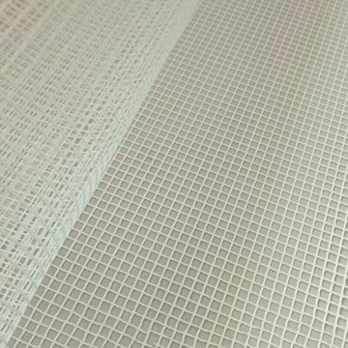 R-Weichong – Alfombra de malla con bordado, para hacer alfombras, para manualidades, 100 x 150 cm