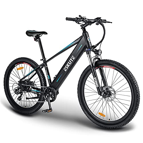 """ESKUTE 27.5""""Vélo Electrique de Montagne, Batterie Lithium-IO"""