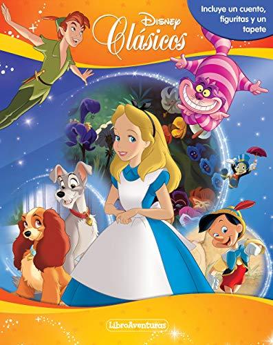 Clásicos Disney. Libroaventuras: Incluye un cuento, figuritas y un tapete