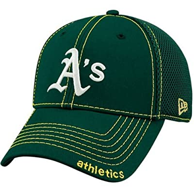 New Era Oakland Athletics Green Neo 39THIRTY Stretch Fit Hat