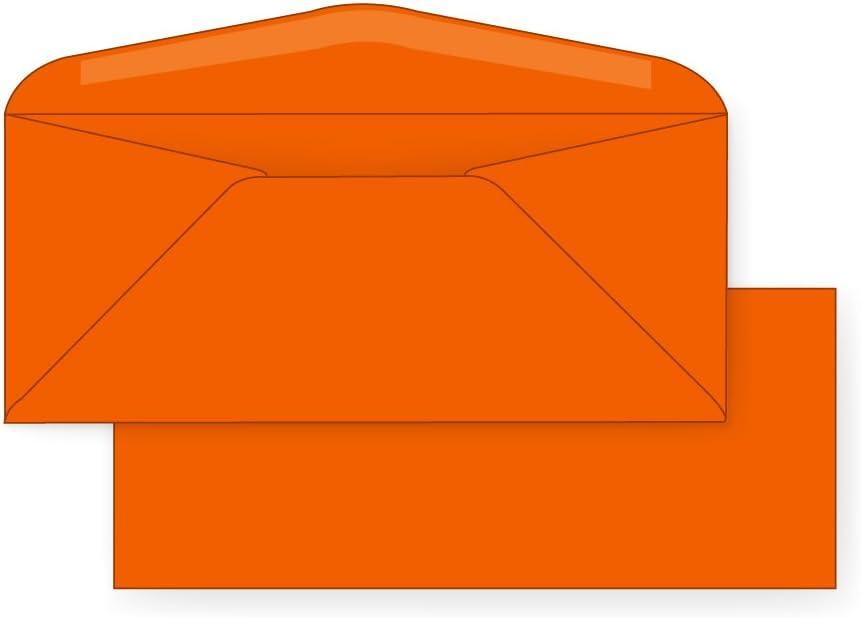 #10 Regular Envelope - Now free shipping Astrobright 24# Orbit 1 4 x 9 Orange New arrival 8