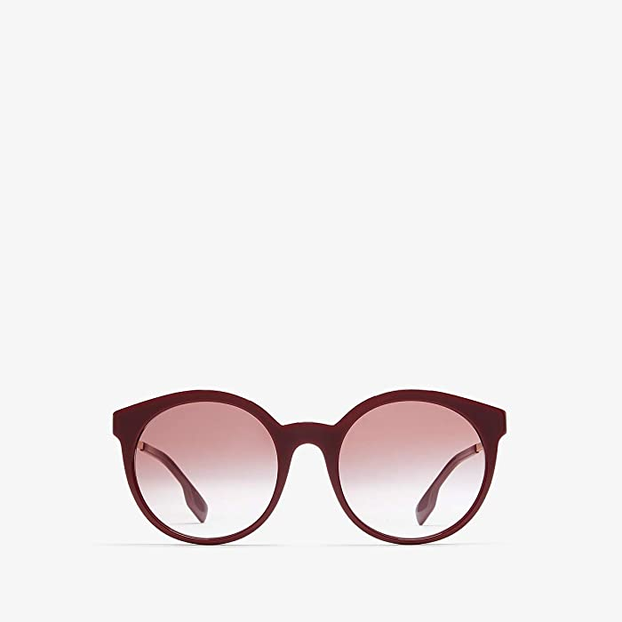 Burberry  0BE4296 (Bordeaux/Clear Gradient Pink) Fashion Sunglasses