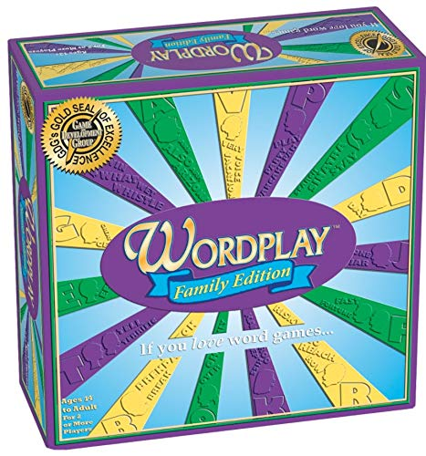 Wordplay Family Board Game  Ages 14 to Adult