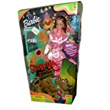 Mattel Year 2000 Barbie Special Edition 'Scooby-Doo, Where Are You' 12 Inch Doll - Barbie as Daphne in 'The Great Amusement Park Caper' with Bodysuit, Jacket, Sunglasses, Toy Camera, Toy Flashlight, Doll-Sized 'Magnifying Glass', Child-Sized 'Magnifying Glass,' Shoes, Sticker Sheet, Hairbrush and Toy Pencil