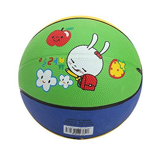 Kinder Basketballspielzeug, Gummi Little White Rabbit Hochelastische Kinder Kinder Mini Basketball Outdoor Wear Resistant Basketballspielzeug für 1-5 Jahre alt