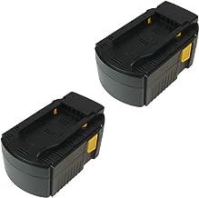 2x Batería NI-MH Alto Rendimiento, 24V/3000mAh, sustituye a Hilti B 24/3.0, B 24/2.0B24/3B24/2apto para WSR 650A (WSC 6.5UH 240A (WSC de 55A24Te de 2a SFL 24sfl24