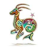 Seeka Ambitious Capricorn the Sea Goat Zodiac Pin - P0910