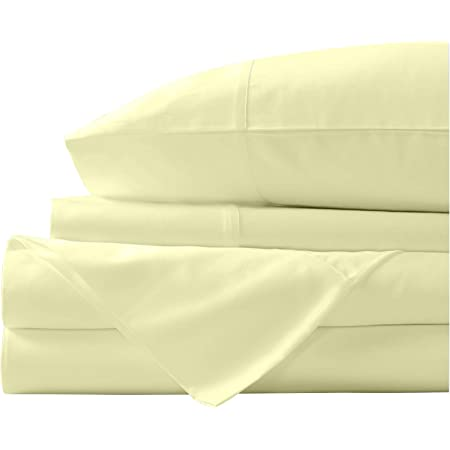 """Glorious 1 PC Fitted Sheet 15/"""" Deep Pocket 1000 TC US Sizes Striped Colors"""