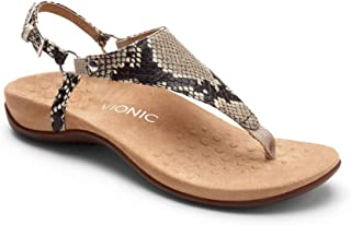 3da52a55a05f Vionic Women s Rest Kirra Backstrap Sandal - Ladies Sandals with Concealed  Orthotic Arch Support