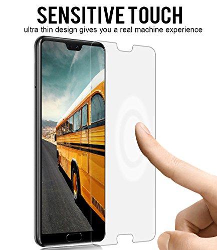 VICKSONGS (3Stück Schutzfolie für Huawei P20 Pro,[Ultra Clear] Displayschutzfolie (Nicht Glas) PET Soft Displayschutz [Anti-Bläschen][Anti-Fingerabdruck] Screen Protector für Huawei P20 Pro - 4
