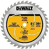 DEWALT FLEXVOLT 8-1/4-Inch Circular Saw Blade, 36-Tooth (DWAFV3836)