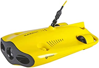 Gladius Mini Submersible Drone with 100m Tether with Backpack, Yellow (CTGladM100SET1)