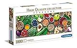 Clementoni- Puzzle 1000 Piezas Panorama Verduras saludables (39518.7)