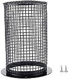 Protector de calentador de reptiles antiquemaduras, carcasa de lámpara de calefacción, protector de jaula de luz, cubierta de malla para lagarto tortuga, pájaros serpiente