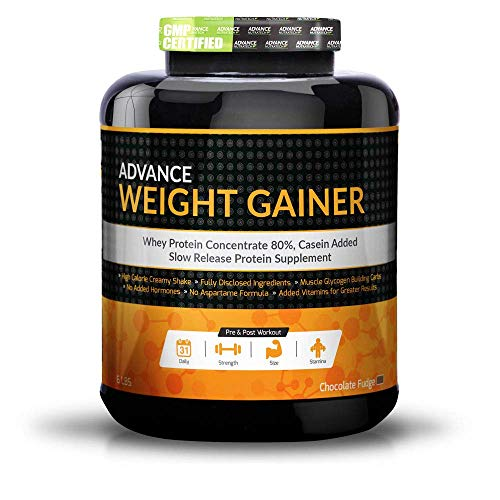 Advance Nutratech Weight Mass Gainer - 6 Lbs (2. 7 Kg) (Chocolate)
