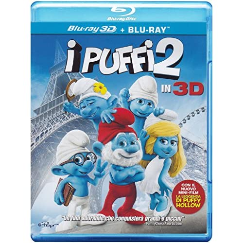 I Puffi 2 (Blu-Ray 3D + Blu-Ray);The Smurfs 2