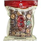 Setas Shiitake Deshidratadas (200gr) | Lentinus Edodes Seco de Tamaño 4-5cm | Sin Colorantes Ni Conservantes [Halal]