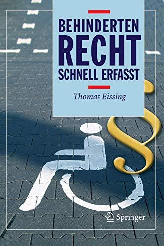 Behindertenrecht - Schnell erfasst (German Edition)