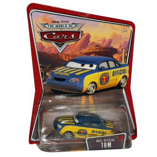 Disney Cars Diecast - Race Official Tom #57