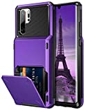 Coolden for Huawei P30 Pro Case 4 Card Pocket Protective