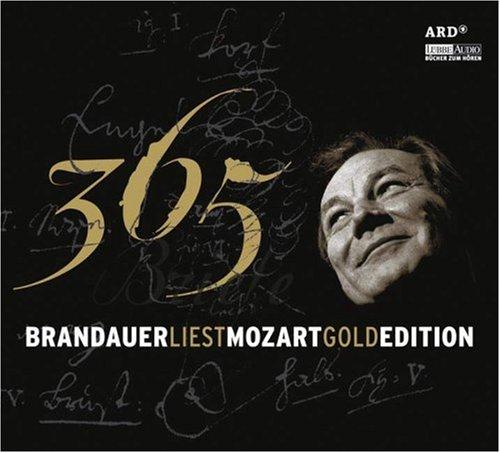 Brandauer liest Mozart - 365 Briefe: Gold Edition.  Lesung