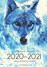 A5 Planner - 2020-2021 Planner Calendar - Wolves 15 Months Daily Weekly Monthly Diary With Dot Grid Notebook & Habits Tracker: Academic Goals Journal ... Quotes; From Jan 2020 - Mar 2021