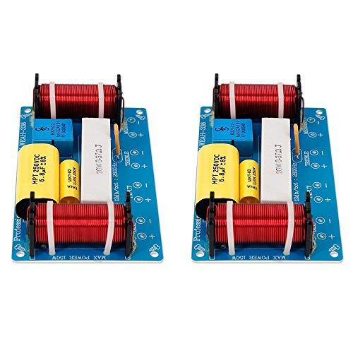 Fauge 2 Piezas Altavoz Divisor de Frecuencia de Audio de 3 VíAs...
