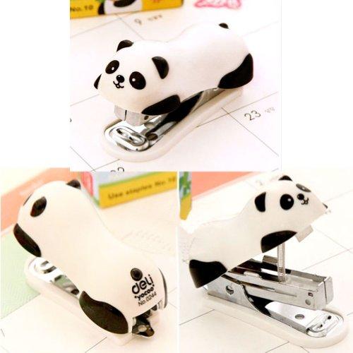 Cute Panda Mini Desktop Stapler&Staple Hand Stapler Office/Home Stapler(62.5CM) Photo #2