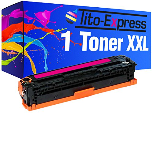 Tito-Express PlatinumSerie Toner XXL Magenta kompatibel mit HP 131A CF213A Laserjet Pro 200 Color M251N M251NW M276N M276NW