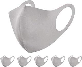 マスク 初秋に最適 洗えるマスク 快適 UVカット 立体構造 繰り返し使える 6枚入り 男女兼用