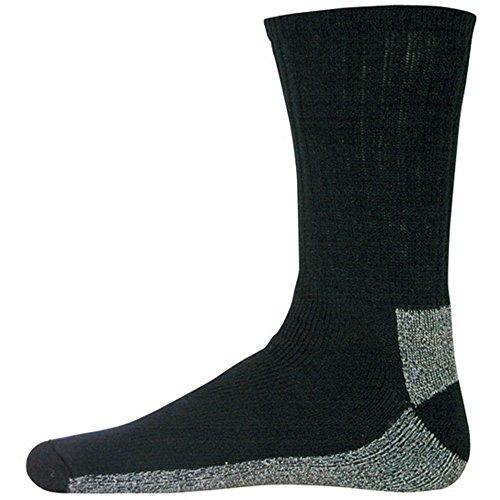Fox Outdoor CBS-BLM Chukka Coolmax Boot Socke, Größe M, Schwarz