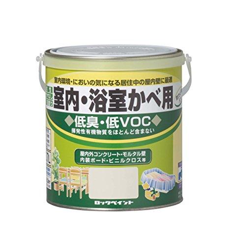 水性ツヤ消し塗料 室内・浴室カベ用 0.7L
