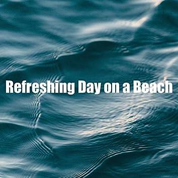 Refreshing Day on a Beach